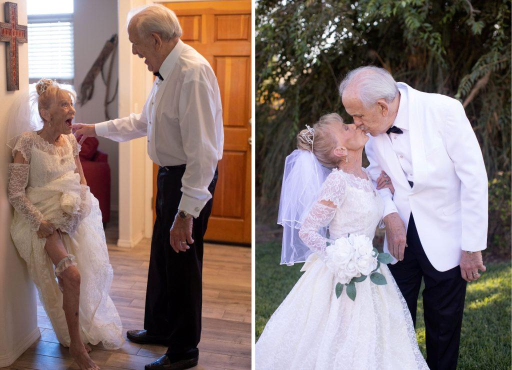 Berita Pernikahan 2021: Kakek-Nenek Buat Ulang Foto Nikah